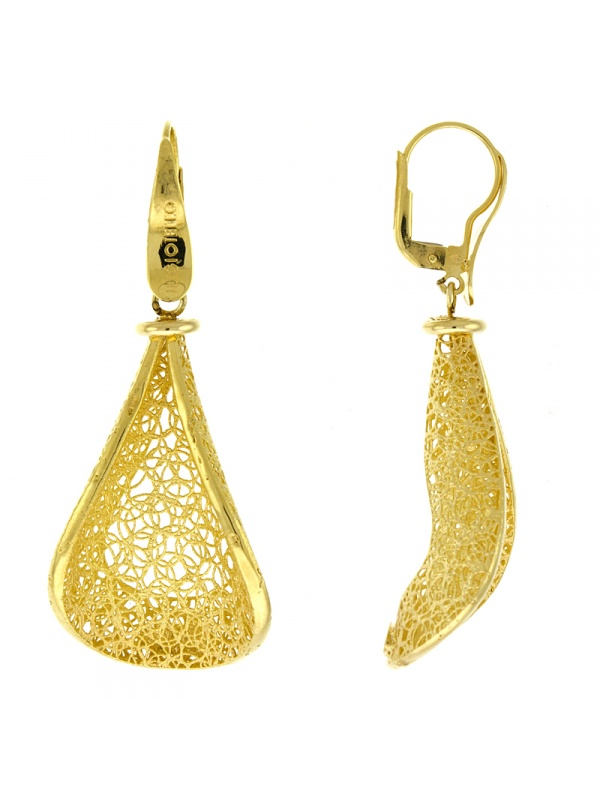 18KT Yellow Earrings