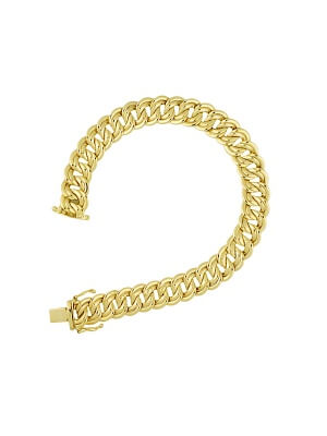 14KT Yellow Double Link 10mm