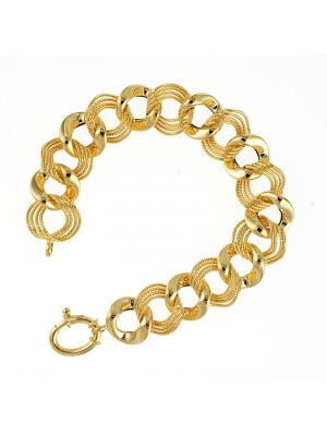 14KT Yellow Mixed Link