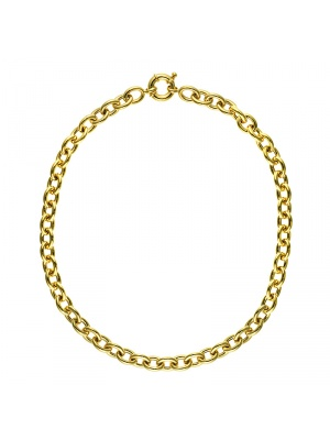 14KT Yellow Oval Link 10.5mm