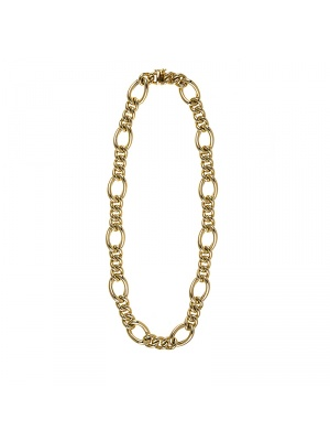 14KT Yellow Mixed Links