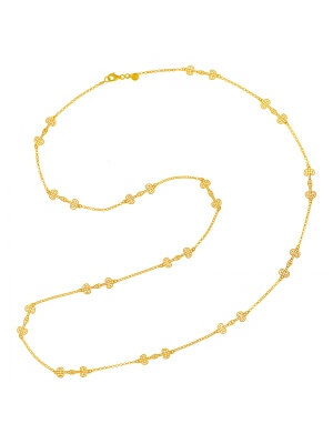 18KT Yellow Necklace