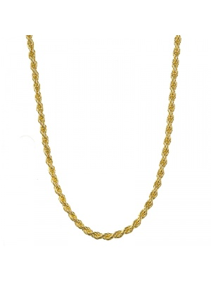 18KT Yellow Rope 4.1mm