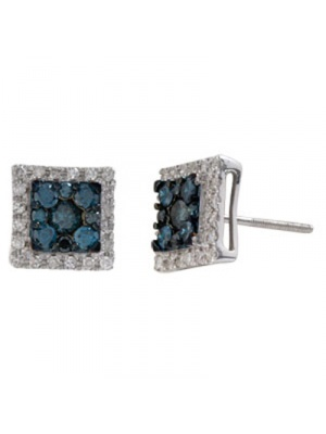14K 0.98 CT FASHION INV EARRING