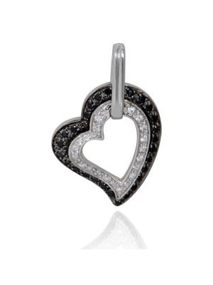 .30 CT HEART PENDANT