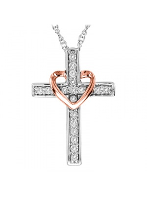 .16 CT CROSS PENDANT