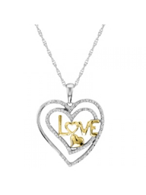 .16 CT HEART PENDANT