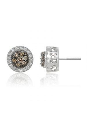 14K 0.53 CT JACKET EARRING