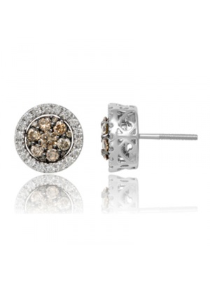 14K 1.03 CT JACKET EARRING